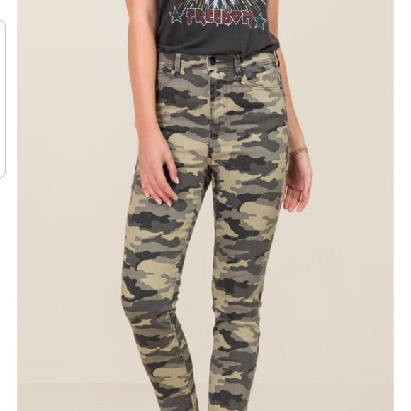 Harper Denim - Francescas Harper Camo skinny pants jeans